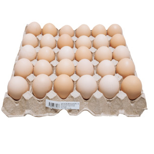 LOCAL KAMPUNG EGG 30'S 本地新鲜乌鸡蛋