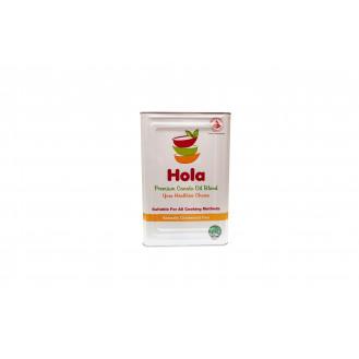 HOLA BRAND CANOLA OIL BLENDED 15KG  花籽油