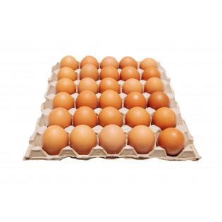 FRESH BROWN EGG GRADE AA 30'S 鸡蛋
