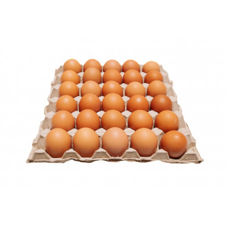 FRESH BROWN EGG GRADE A 30'S 鸡蛋